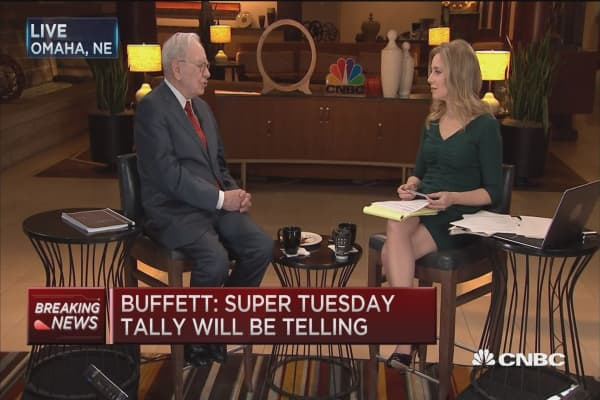 Trump's popularity surprises me: Warren Buffett