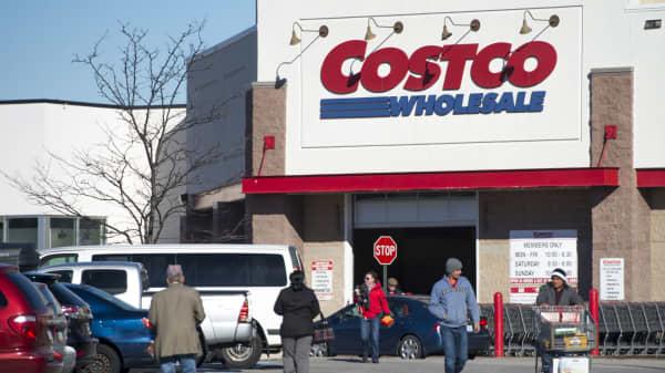 A Costco Wholesale warehouse location in Woodbridge, Virginia.
