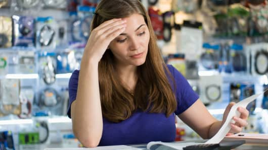 Entrepreneur worried