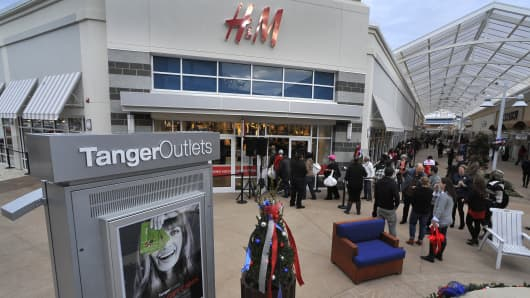 Tanger Outlets in National Harbor, Md.