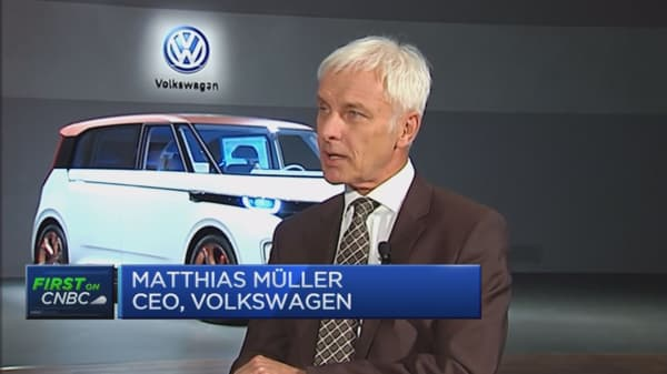 VW finding a solution with US authorities