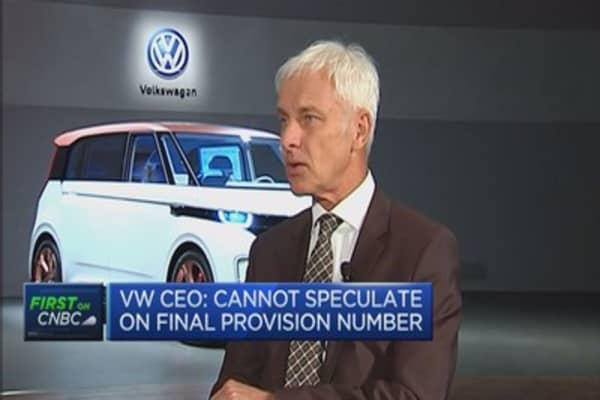VW is a health firm financially: CEO