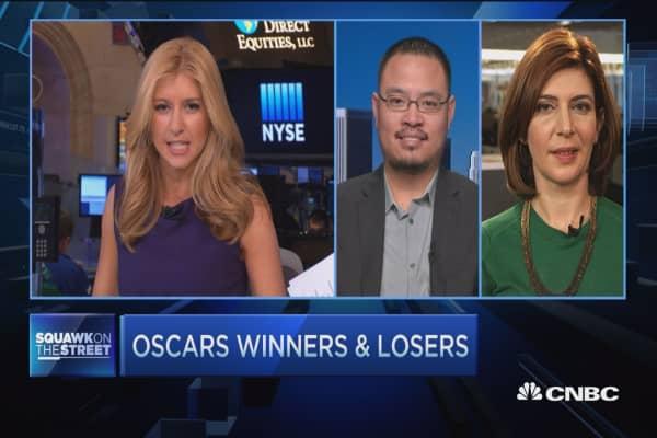 Oscars winners & losers