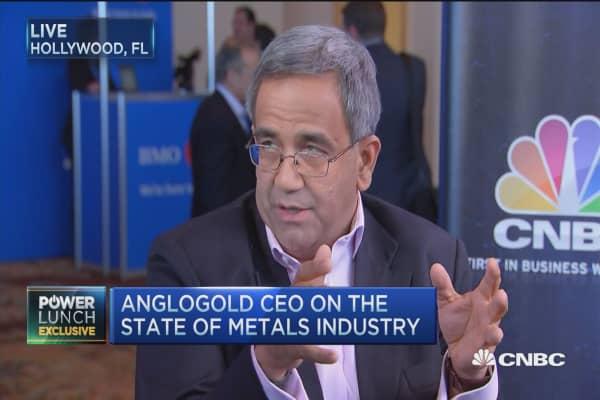 Gold fundamentals haven't changed: CEO