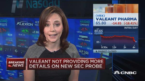 Valeant confirms SEC subpoena in Q4