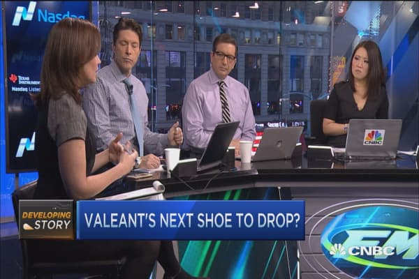 Valeant investors feel the pain
