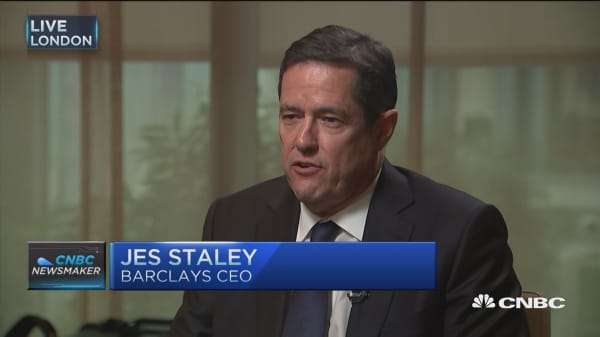 Barclays CEO: Focus on core business