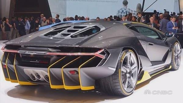 Super-price supercars reach new levels