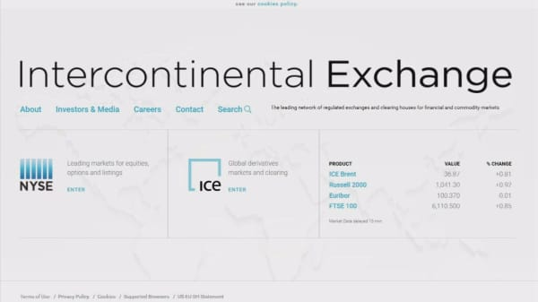 ICE considers offer for LSE Group