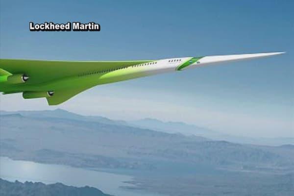 NASA reviving supersonic travel