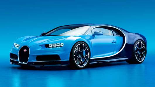 Bugatti unveiled the fastest and most expensive super car ever built, the Chiron.  It will cost $2.6 million and only 500 vehicles will be built.
