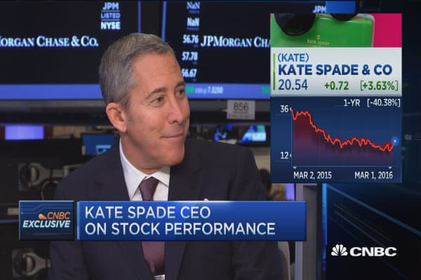 Kate Spade CEO: Focus is on quality of sale