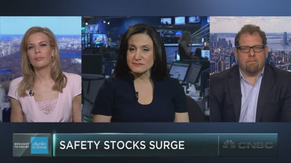 Safety stocks surge