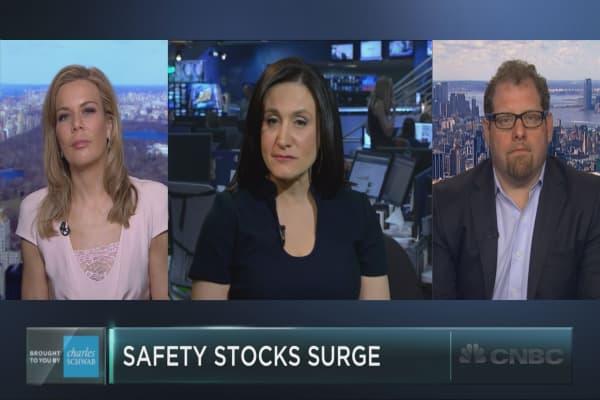 Safety stocks surge