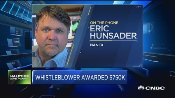 Whistleblower awarded $750K