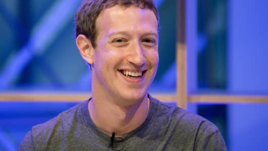 Mark Zuckerberg, Facebook founder and chief