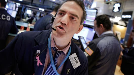 United States  stocks-Wall Street climbs on Intel, healthcare boost