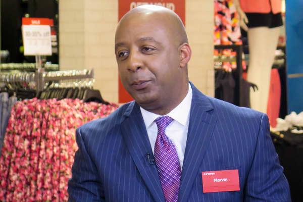 Marvin Ellsion, CEO of JC Penney.