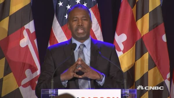 Carson addresses his concerns