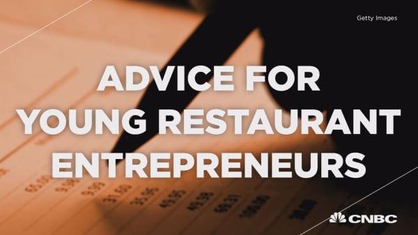 Advice for young restaurant entrepreneurs
