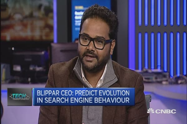 Solves problem when you can't Google: Blippar CEO