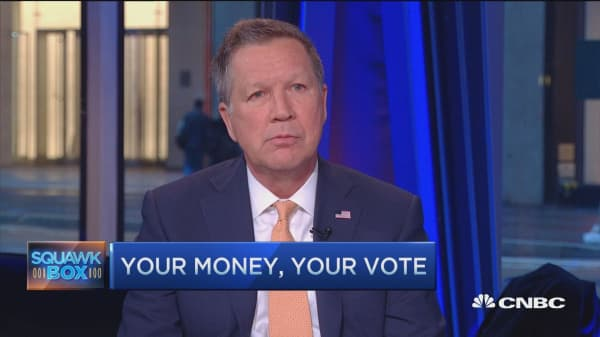 Gov. Kasich: People are starting to hear my message