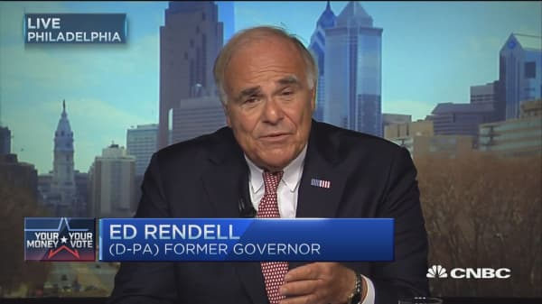 Ed Rendell: Good and bad news for Trump and Clinton