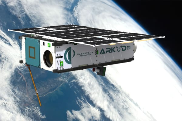 The Planetary Resources' Arkyd 6 asteroid miner is expected to launch this year. A sensor on board will not only prospect asteroids but also deliver actionable intelligence of the Earth to various global markets.