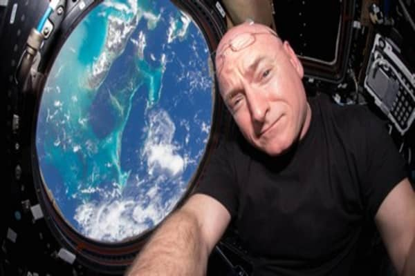 Astronaut Scott Kelly returns after 340 days in space
