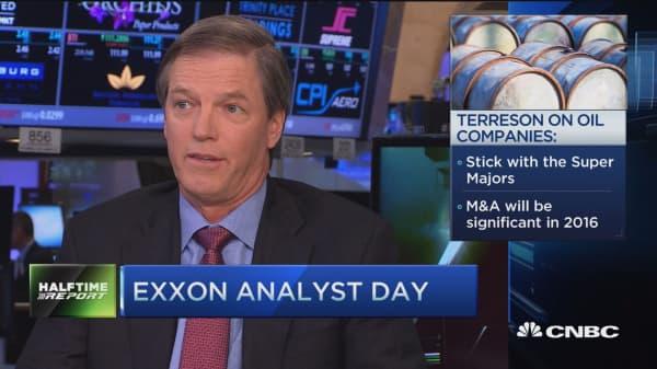Terreson bets on oil supermajors