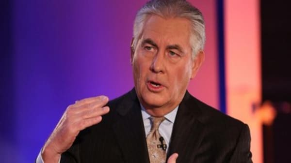 Exxon's Tillerson: We're built for long-term investors