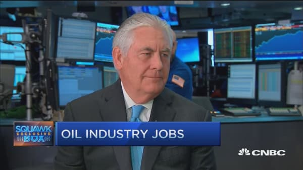 Exxon's Tillerson: Hanging onto AAA rating