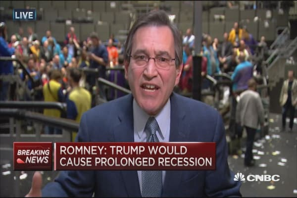 Santelli on Romney: Irony is only think I can think of