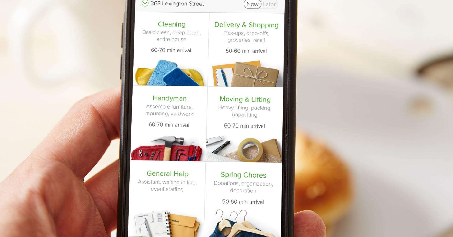 TaskRabbit rolls out on-demand service