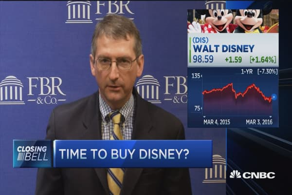 Time to buy Disney?