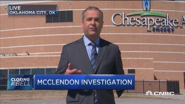 Investigating McClendon's accident