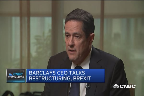 BARCLAY'S CEO