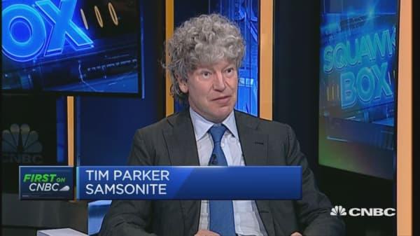 Samsonite buys Tumi : First on CNBC