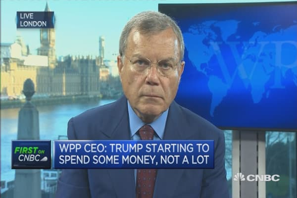 I'm confident Clinton will be president: WPP CEO