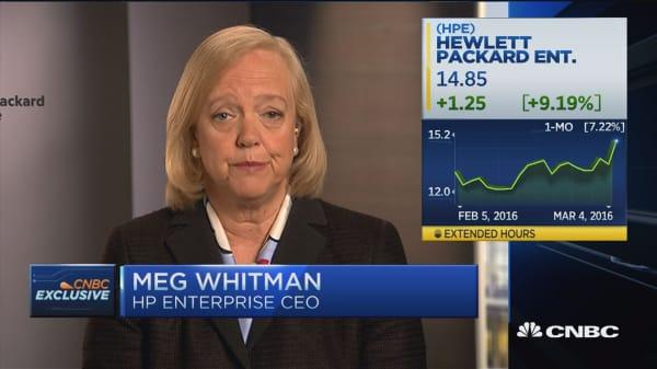 Meg Whitman: Investing in organic innovation is best