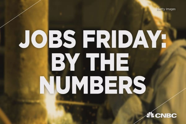 Three big numbers from a big jobs Friday