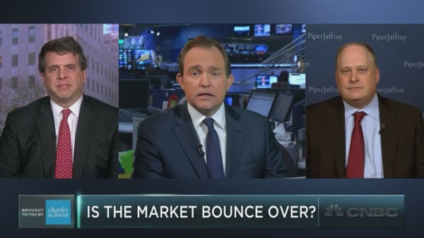 Has the bounce run its course?