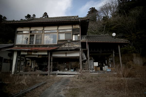 Last month personal items remained strewn around a tsunami-damaged home in Minamisoma, close to the devastated Fukushima Daiichi nuclear power plant.