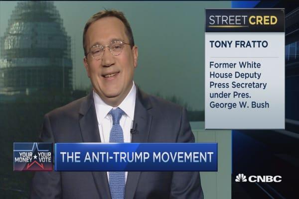 Anti-Trump movement gains traction