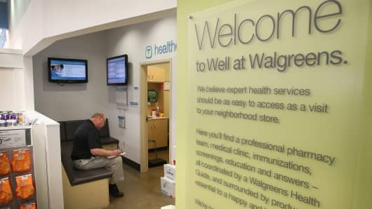 Walgreens health-care clinic