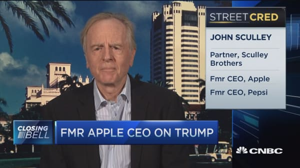 Sculley: Trump is 'master of perception'