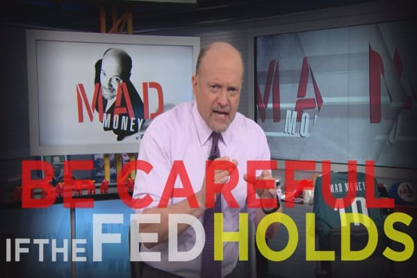 Cramer Remix: Beware of the Fed's impact here