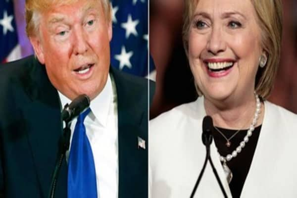 Candidates eye two big states in Tuesday's contests
