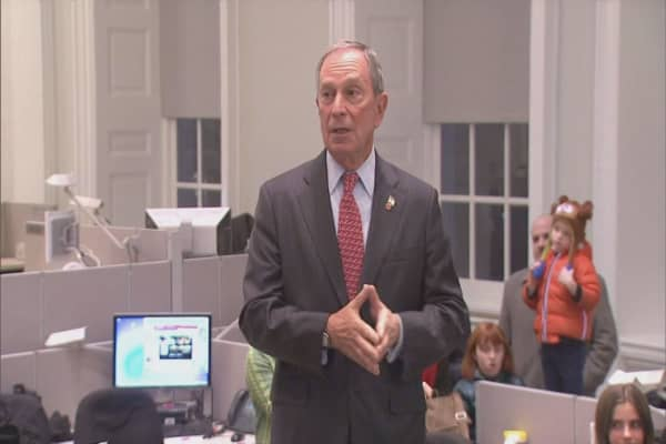 Michael Bloomberg nixes run for president