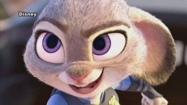 'Zootopia' outpaces 'Frozen' in opening weekend